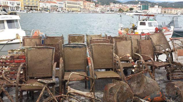 Απίστευτες εικόνες μετά τον καθαρισμό του βυθού στο λιμάνι του Γυθείου Vithos3