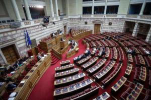 Χαμός στη Βουλή για τις τροπολογίες! Για «πλυντήριο» και «ξέπλυμα» μιλά η αντιπολίτευση!