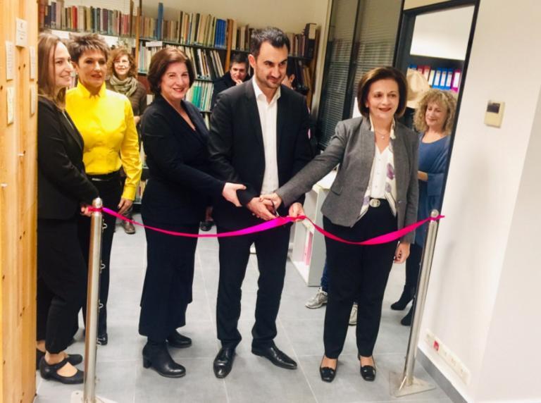 """Χαρίτσης: """"Το άνοιγμα κάθε βιβλιοθήκης είναι μια νίκη κατά των fake news""""   Newsit.gr"""