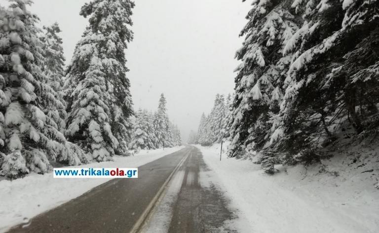 Καιρός: Εικόνες στο πνεύμα των Χριστουγέννων – 80 πόντους χιόνι στα ορεινά των Τρικάλων [pics, video]   Newsit.gr