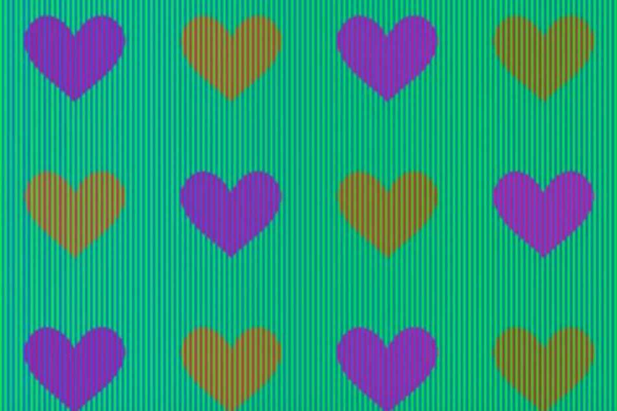 Οι καρδιές που βλέπετε έχουν το ίδιο χρώμα! Δείτε και την εξήγηση…