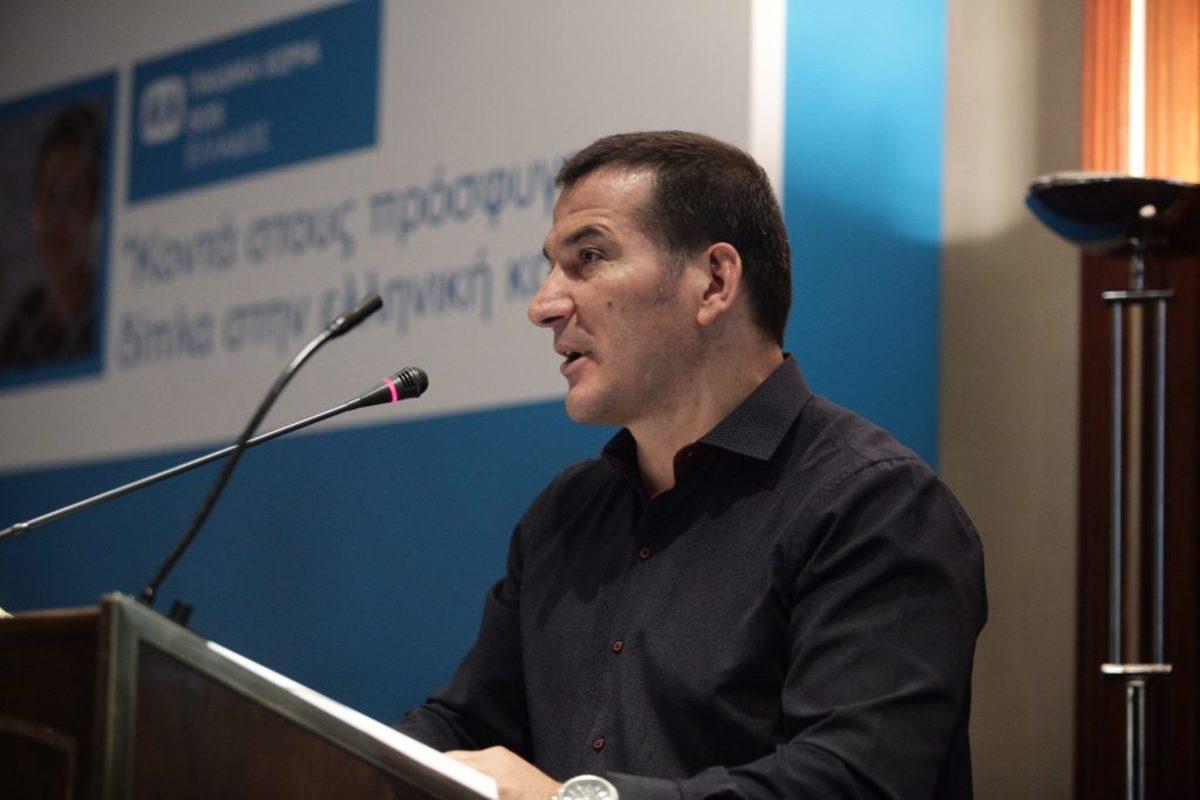 """Δ.Ι.Α. Πύρρος Δήμας: """"Δεν είμαστε ΜΚΟ, είμαστε αστική μη κερδοσκοπική εταιρεία"""""""