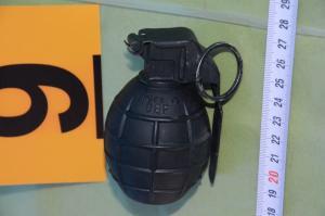 Βρέθηκε χειροβομβίδα κοντά σε ξενοδοχείο της Θεσσαλονίκης