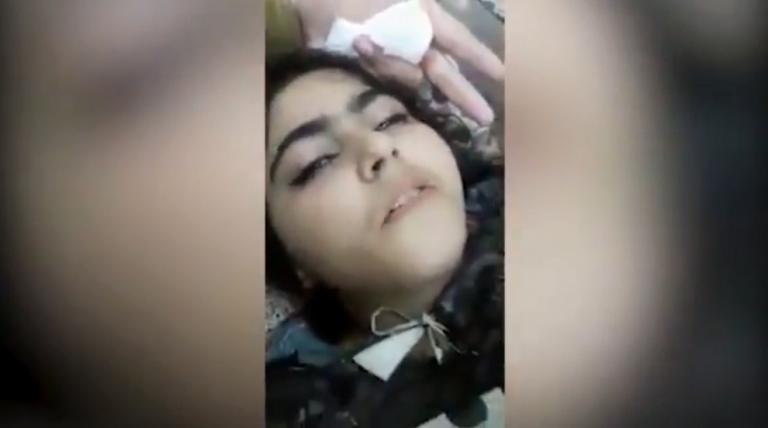 Ανατριχιαστικό βίντεο! Αποκάλυψε τον δολοφόνο της πριν ξεψυχήσει