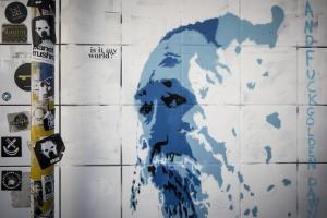 Ο Τζιμάκος έγινε γκράφιτι! [pics]