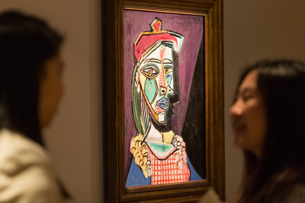 Σπάνιος πίνακας του Πικάσο εκτίθεται στο Χονγκ Κονγκ [pic]