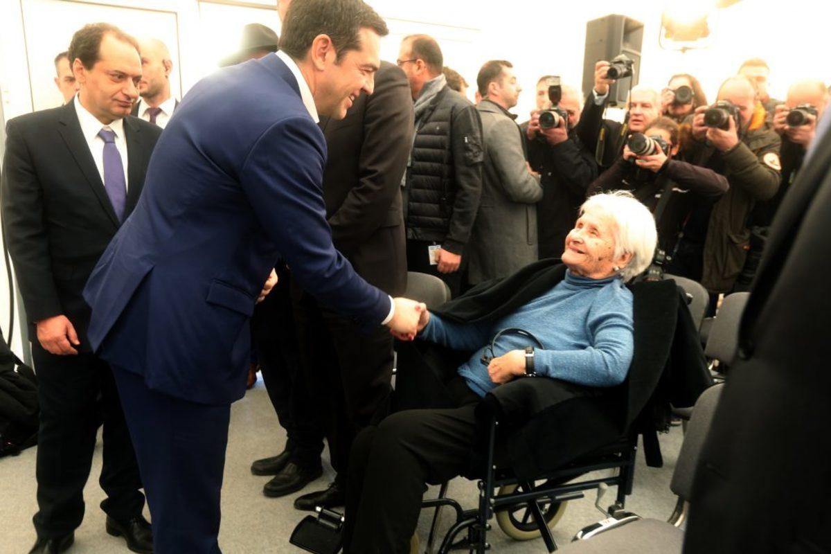 Θεσσαλονίκη: Όλα όσα έγιναν στο Μουσείο Ολοκαυτώματος – Η γυναίκα που συγκίνησε τον Τσίπρα