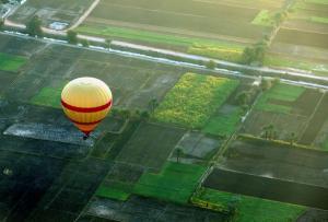 Έπεσε αερόστατο με 20 τουρίστες κοντά στο Λούξορ!