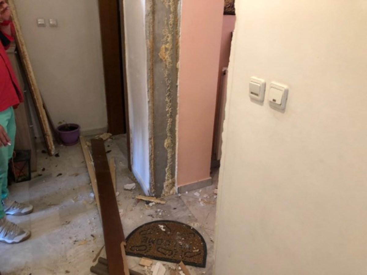 Λάρισα: Στο νοσοκομείο μάνα και το μόλις 7 ημερών βρέφος της από έκρηξη σε αυτό το διαμέρισμα [pics]