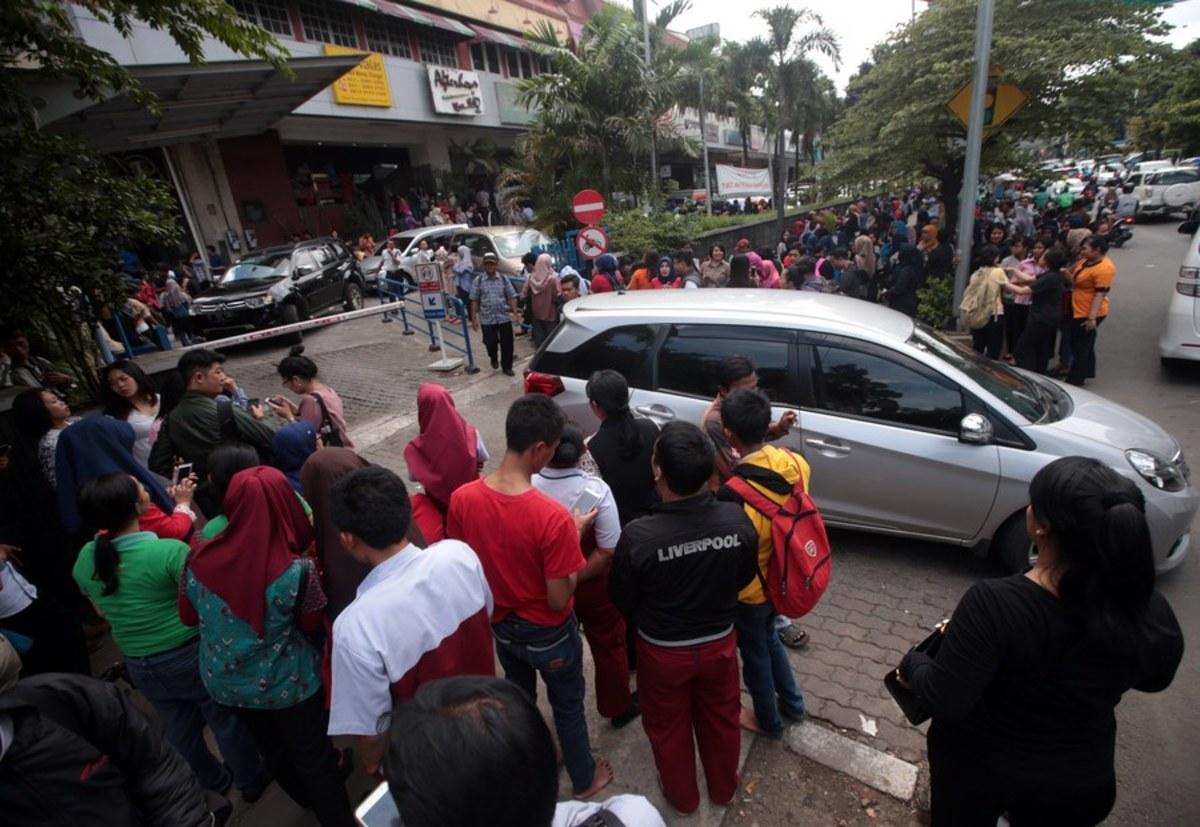 Τζακάρτα σεισμός