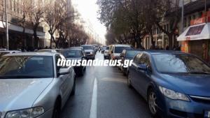 Θεσσαλονίκη: Κυκλοφοριακό κομφούζιο λόγω της επίσκεψης του προέδρου του Ισραήλ [vid]