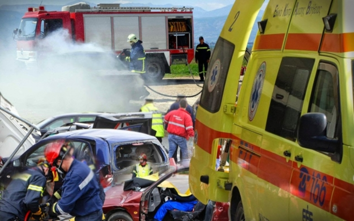 Τραγωδία με τρεις νεκρούς στην Κρήτη! Φονική σύγκρουση αυτοκινήτων! Μέσα στο ένα ήταν και παιδιά