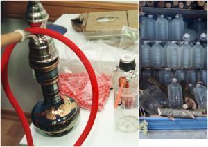 """""""Λαβράκι"""" από τους ράμπο του ΣΔΟΕ! Χιλιάδες λίτρα λαθραίων ποτών και καπνού"""