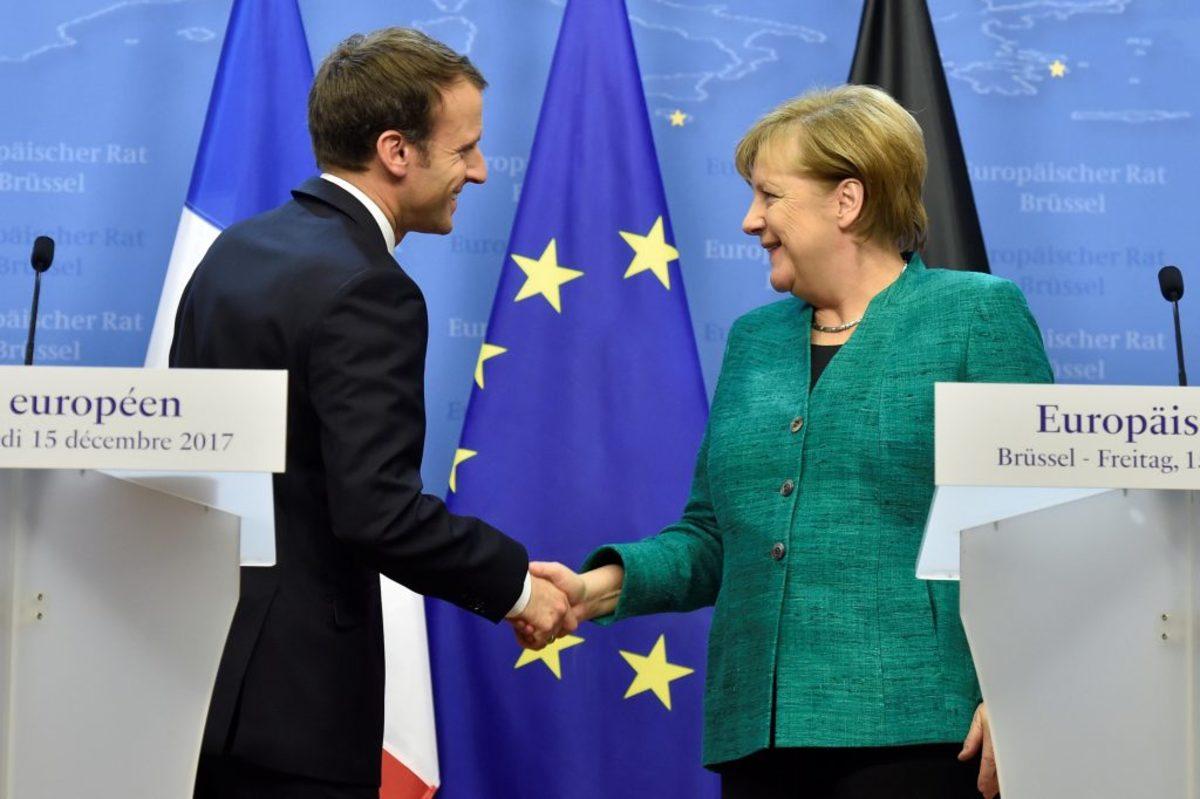 Ευχαριστημένος ο Μακρόν με την συμφωνία Μέρκελ – Σουλτς για κυβέρνηση συνασπισμού