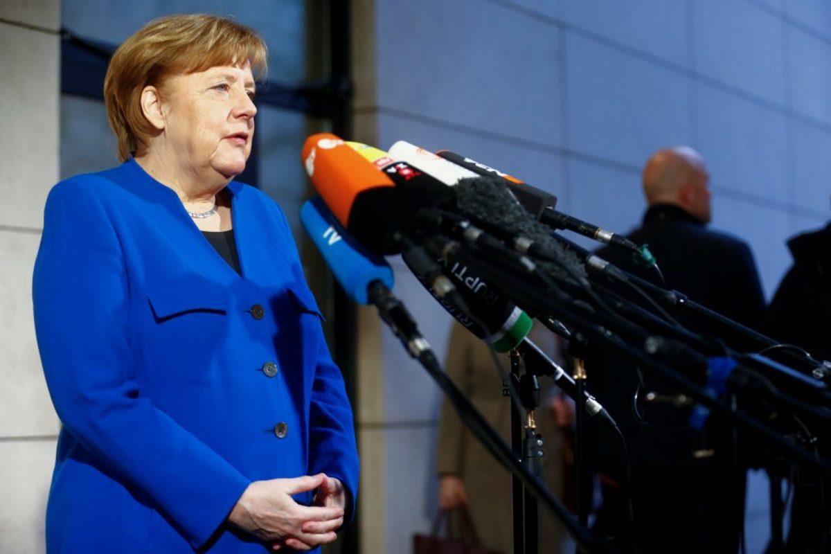 Γερμανία Μέρκελ Σουλτς κυβέρνηση