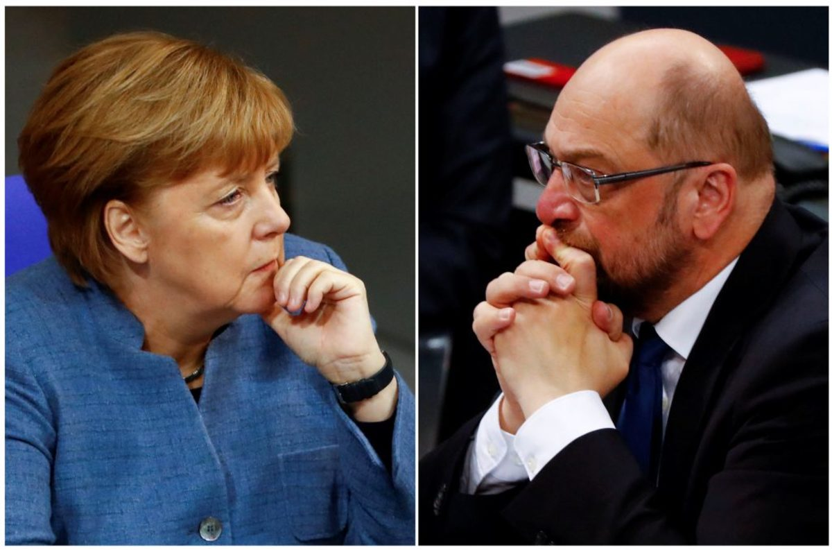 Οι Γερμανοί προτιμούν νέες εκλογές από συνασπισμό Μέρκελ – Σουλτς
