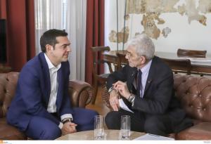Θεσσαλονίκη: Τσίπρας – Μπουτάρης μία συνάντηση γεμάτη χαμόγελα και συζητήσεις για την πόλη