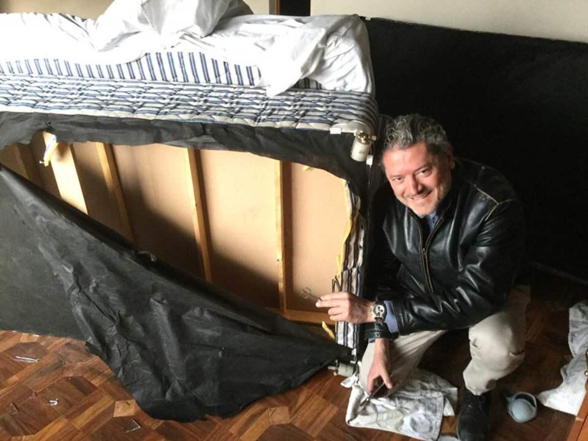 Βασίλης Βασιλείου Μιχάλης Πουλικάκος Καμπούλ, ξενοδοχείο