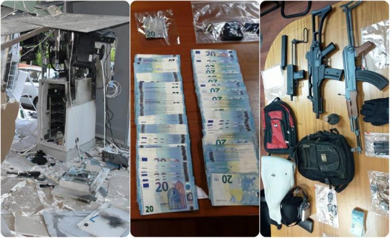 Στη… φάκα η σπείρα που ανατίναζε ATM! Απίστευτα ευρήματα! [pics]