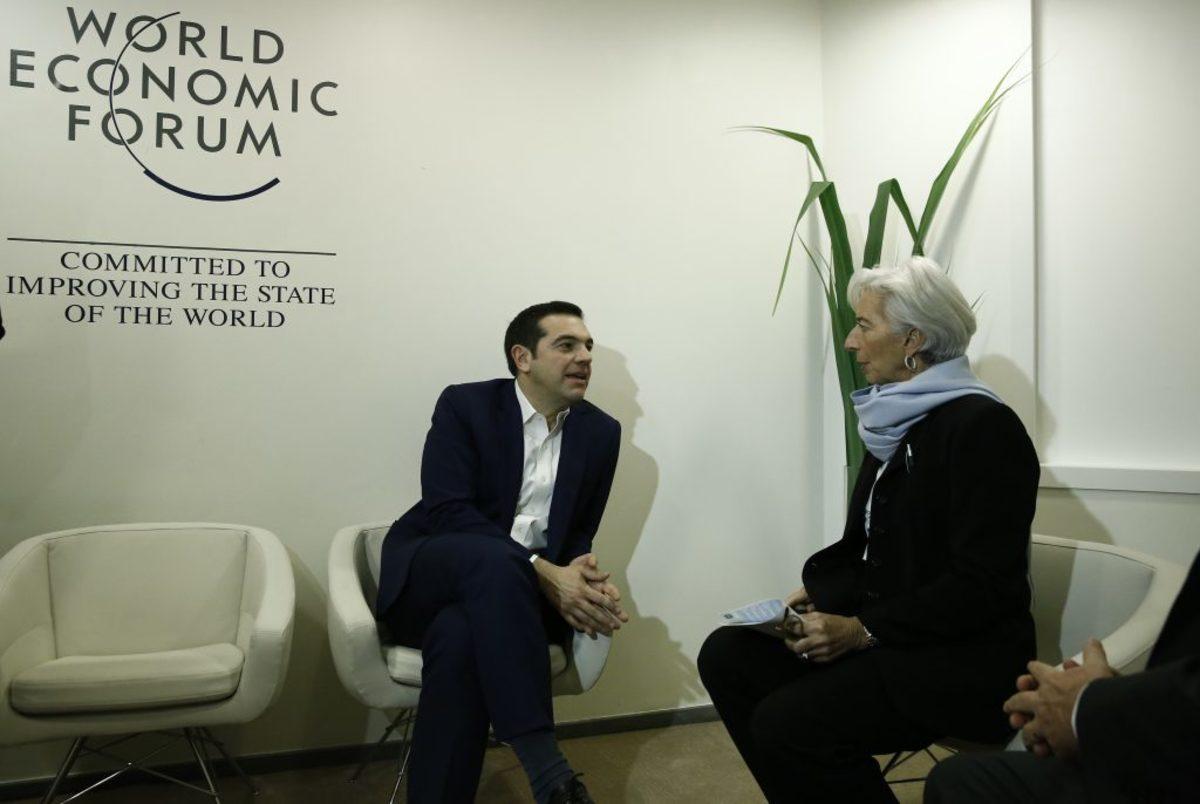 """""""Συγχαρητήρια"""" και συμφωνία για μεταρρυθμίσεις στη συνάντηση Τσίπρα – Λαγκάρντ – Νέο μήνυμα της διευθύντριας του ΔΝΤ στους Ευρωπαίους για το χρέος"""