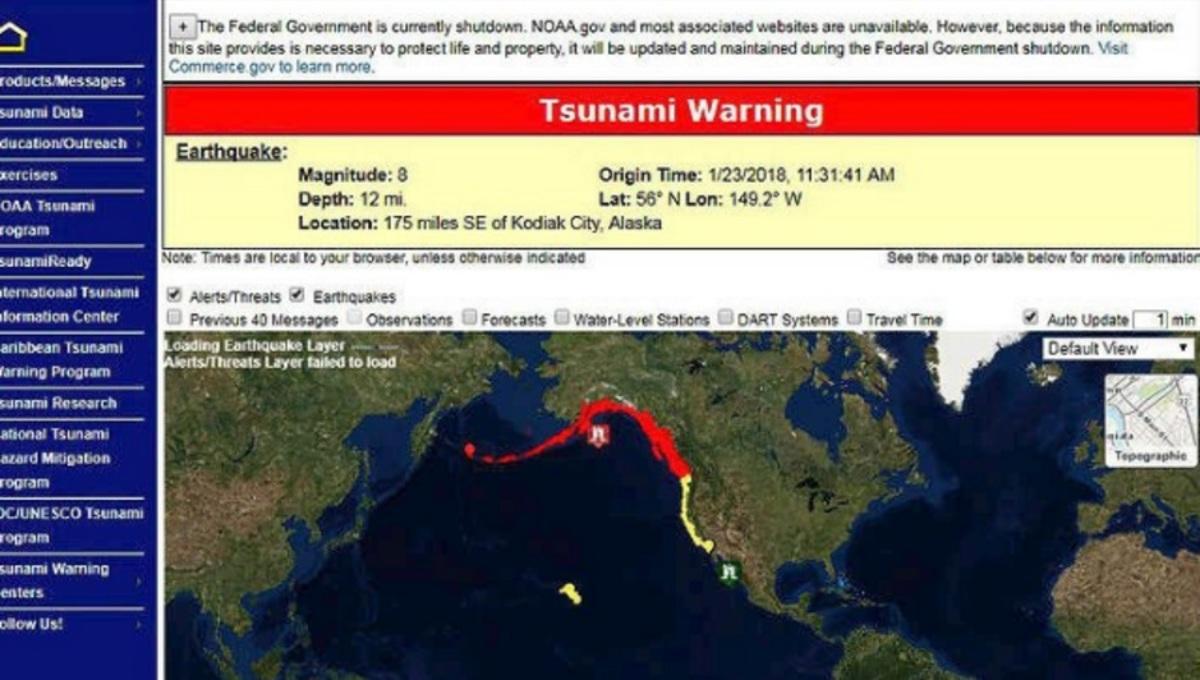 Σεισμός Αλάσκα
