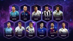 UEFA: Αυτή είναι η ιδανική ενδεκάδα του 2017