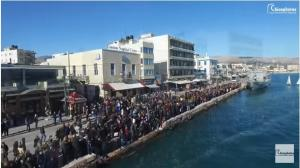 Τα Θεοφάνεια στην Χίο από ψηλά! [vids]