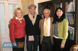 Λακωνία: Η επίσκεψη του Billy Zane – Η αποκάλυψη για τους γονείς και την ελληνική καταγωγή του [pics]