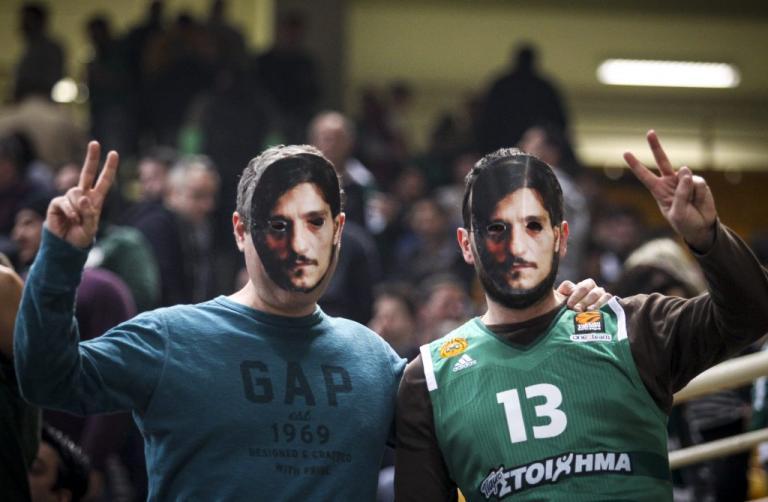 """Παναθηναϊκός: """"Τρόλαραν"""" την Euroleague με… μάσκες Γιαννακόπουλου! [pics]"""