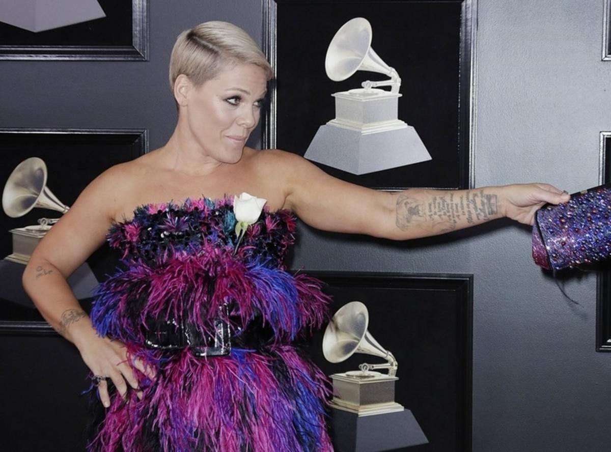 Η Pink στα Grammy