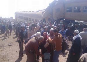 Τραγωδία! Φονική σύγκρουση τρένων στην Αίγυπτο – Δεκάδες νεκροί και τραυματίες