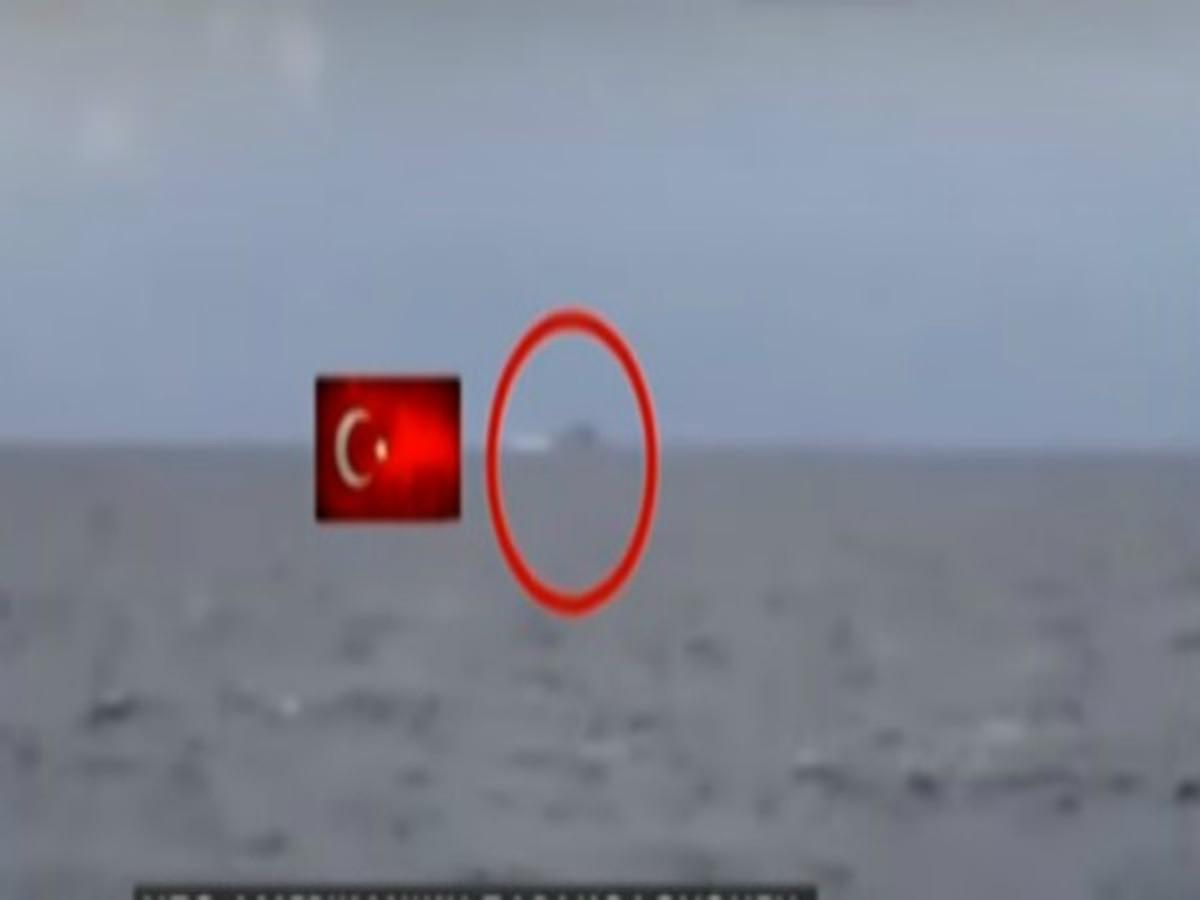 Βίντεο ντοκουμέντο: Το τουρκικό πολεμικό «Barbaros» έφθασε στο Σούνιο