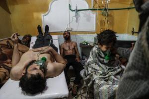 """Συρία: """"Οι αντάρτες δεν αφήνουν κανένα άμαχο να εγκαταλείψει την Ανατολική Γούτα"""""""
