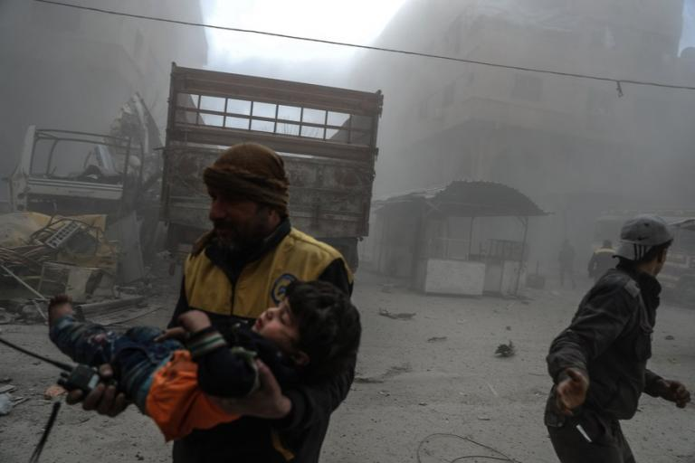 Συρία: Εκεχειρία για τα… μάτια στην ανατολική Γούτα