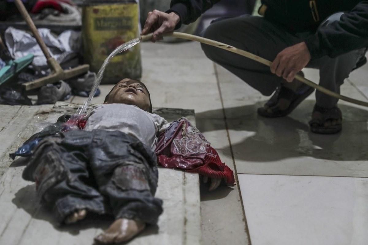 Βόρεια Κορέα Συρία χημικά