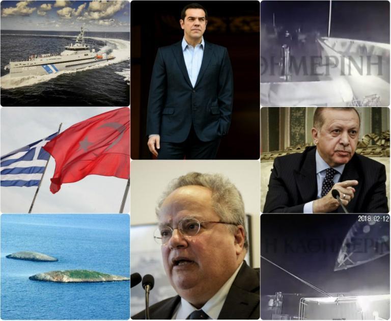 """Ίμια: Τρία βίντεο """"καίνε"""" τους Τούρκους! Ντοκουμέντα των τσαμπουκάδων στο Αιγαίο"""