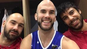 All Star Game: Η selfie του Καλάθη με Σπανούλη και Πρίντεζη [pic]