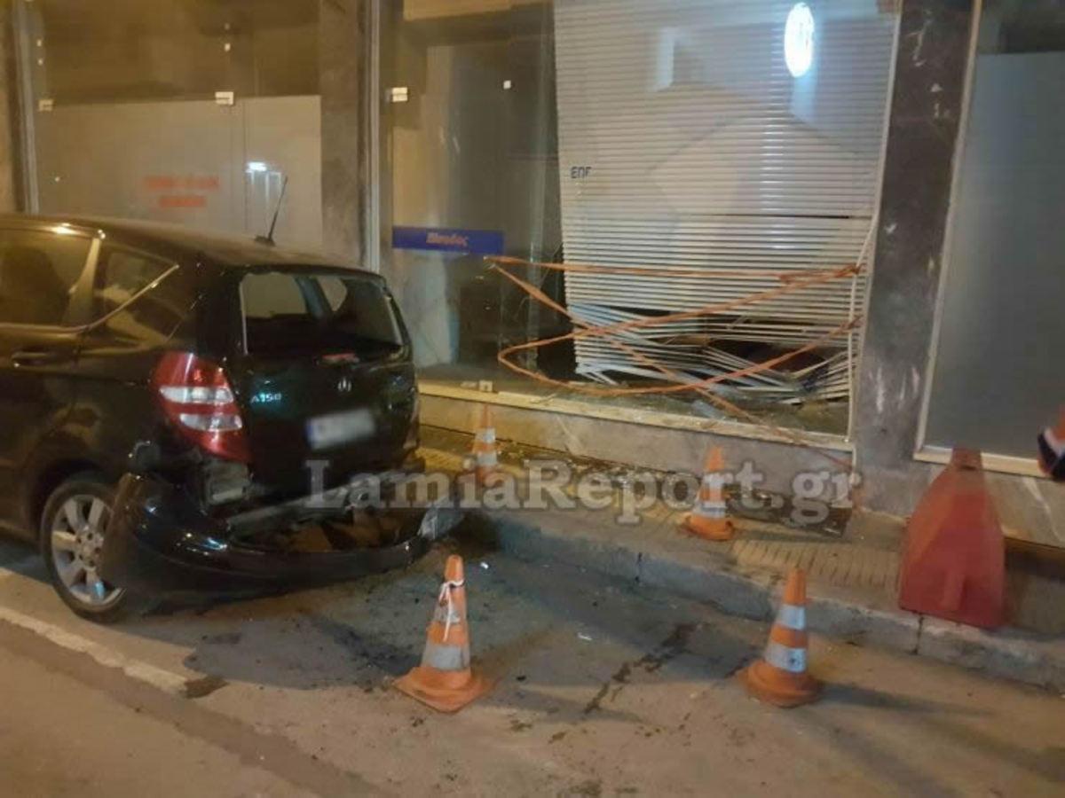 Λαμία: Μεθυσμένος οδηγός σκόρπισε τον πανικό και κατέληξε σε… σχολή οδηγών! [pics]