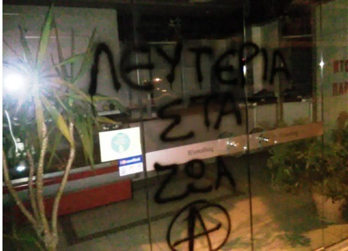 """Ιωάννινα: Αντισπισιστες """"χτύπησαν"""" σε τέσσερα κρεοπωλεία"""