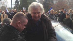 Συλλαλητήριο για την Μακεδονία: Αποθεώθηκε ο αιώνιος έφηβος Μίκης