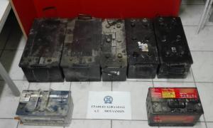 Χαλκιδική: Έκλεψαν αυτές τις μπαταρίες και τις πούλησαν σε επιχειρήσεις – Συλλήψεις και αποκαλύψεις!