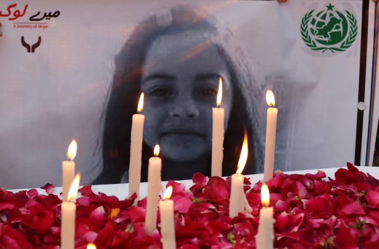 Πακιστάν: Τέσσερις φορές σε θάνατο στο βιαστή και δολοφόνο 6χρονου κοριτσιού