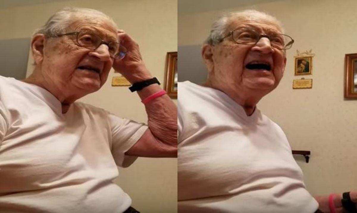 """Ηλικιωμένος φρικάρει όταν του λένε ότι είναι 98 χρονών! """"Πώς γέρασα τόσο γρήγορα;"""""""