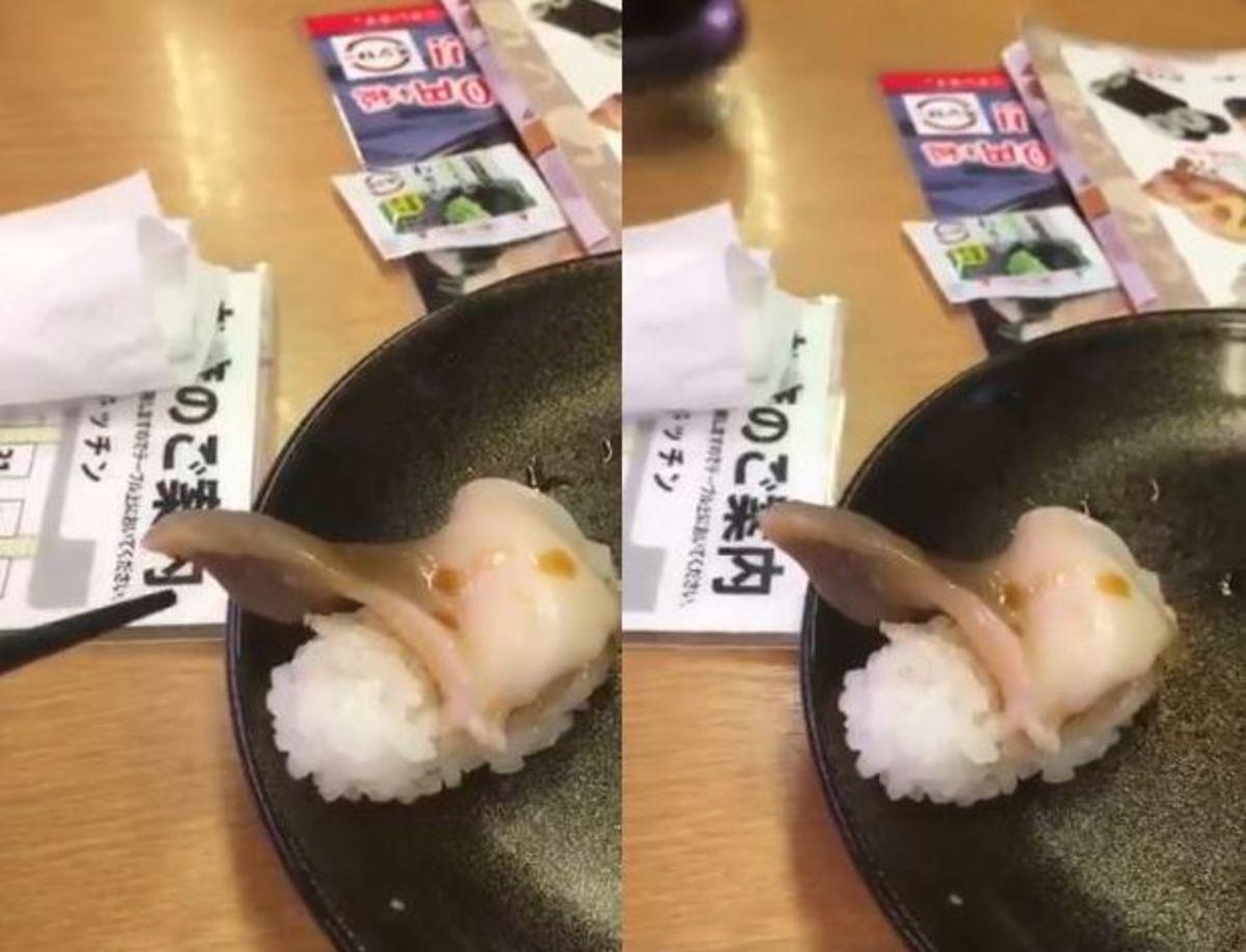 Μετά από αυτό δεν θα ξαναφάτε σούσι – Πελάτης έμεινε κόκκαλο όταν είδε το πιάτο του