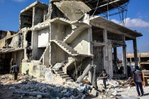 Συρία: Ακόμη 35 άμαχοι νεκροί από αεροπορικές επιδρομές