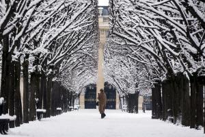 Ζηλευτό Παρίσι – Όλα στα λευκά – Υπέροχες εικόνες