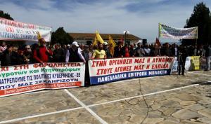 Αγροτικό συλλαλητήριο στο Κιλελέρ