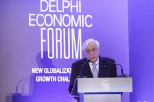 Παυλόπουλος από Δελφούς: Εχθρός της Ευρωζώνης είναι το χρέος