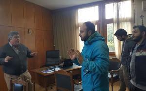 """Φοιτητές """"μπούκαραν"""" στο γραφείο του Πρύτανη του ΤΕΙ Δυτικής Ελλάδας"""