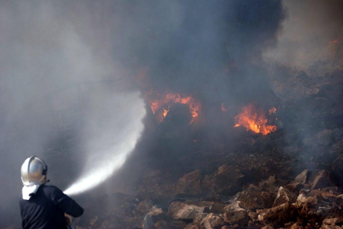 Χανιά: Μεγάλη φωτιά στην Κίσσαμο